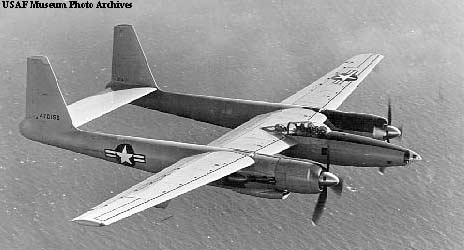 Howard Hughes' XF11 USAF design