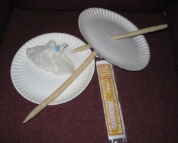 Supplies needed for ear candling