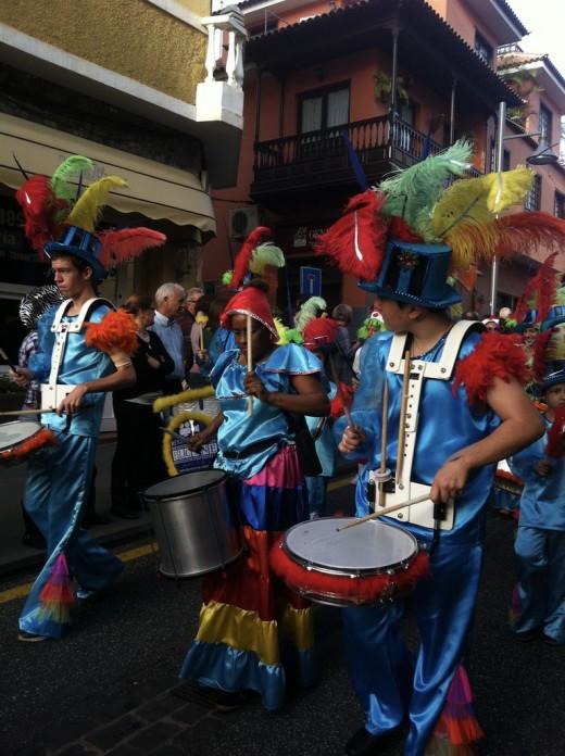 Image from El Carnivale, Puerto de la Cruz