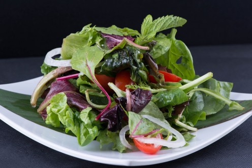 Savoyed Spinach Salad