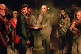 Everything is true. God's an Astronaut. Oz is Over the Rainbow, and Midian is where the monsters live.