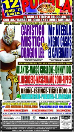 CMLL Puebla: The Road to Atlantis-Hechicero