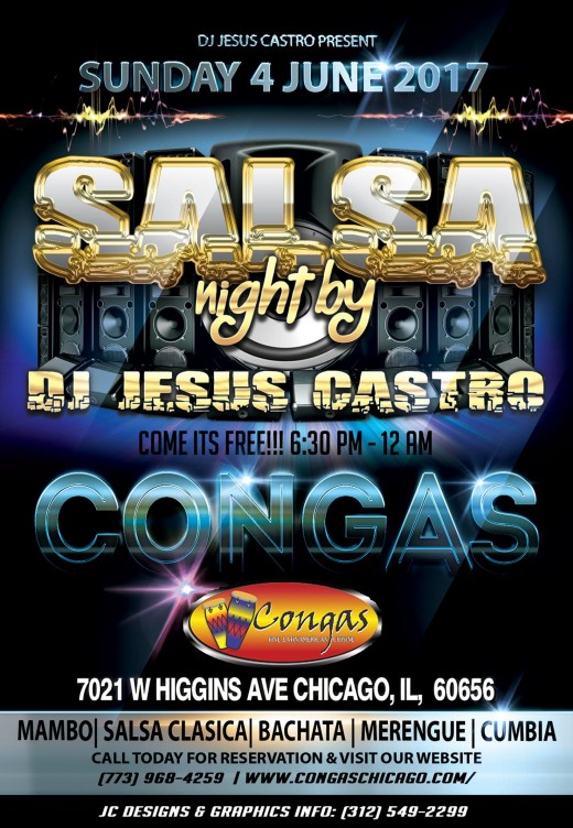 Salsa Sundays at Congas