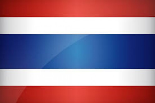 The flag of Thailand came to be on September of 1917 and it is the National and civil flag.