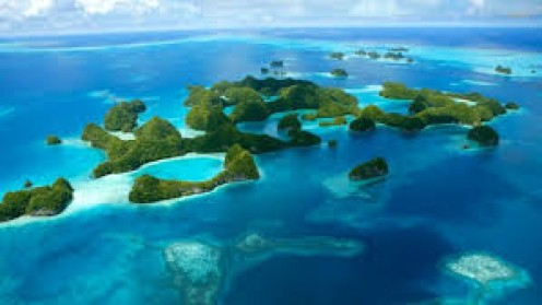 Thailand is made up of some beautiful islands as this photo demonstrates.