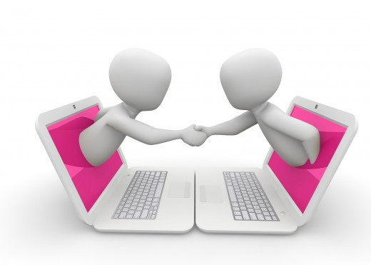 Communicate online