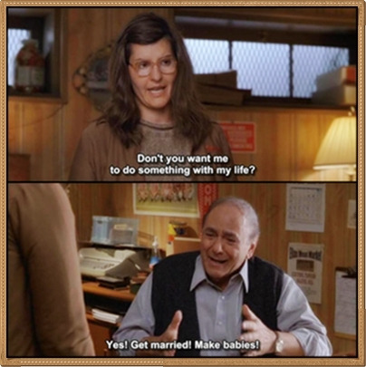 Marcus's father is from My Big Fat Greek Wedding.  Marcus is Tula.