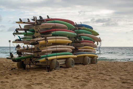 Surfing is a big thing down under.