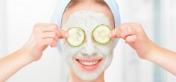 Homemade facial mask for oily skin