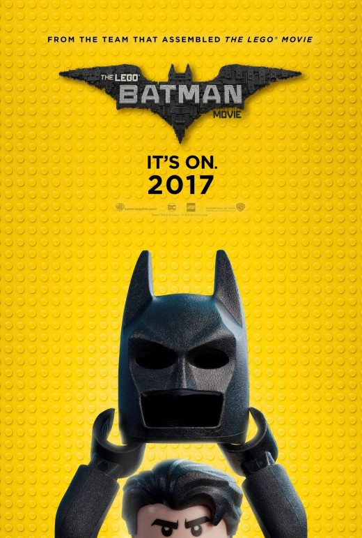 The Lego Batman Movie theatrical poster