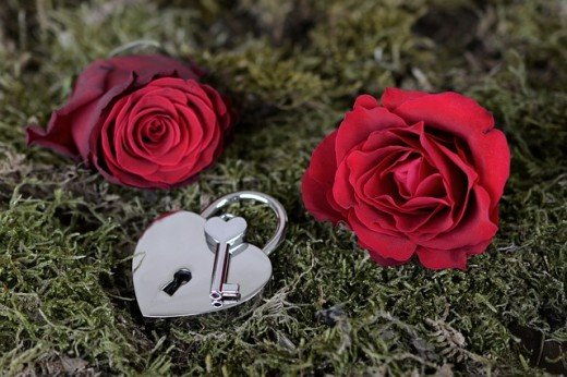 Red Rose and the key to her Heart