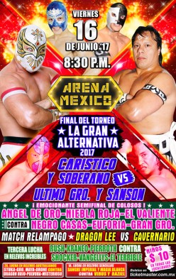 The CMLL Running Diary to End Some CMLL Running Diaries