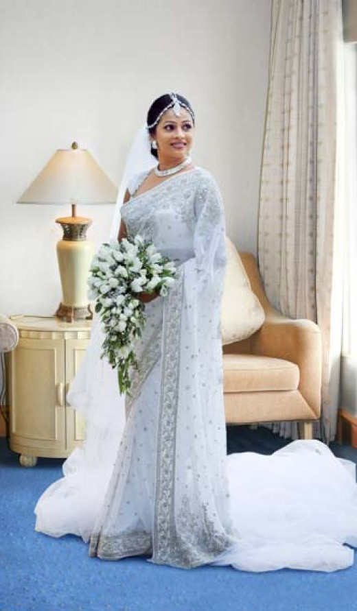 Sri Lankan Wedding Sarees