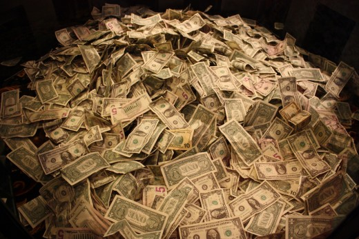 A pile of money.  If you become an Avon representative this may be possible with lots of hard work.
