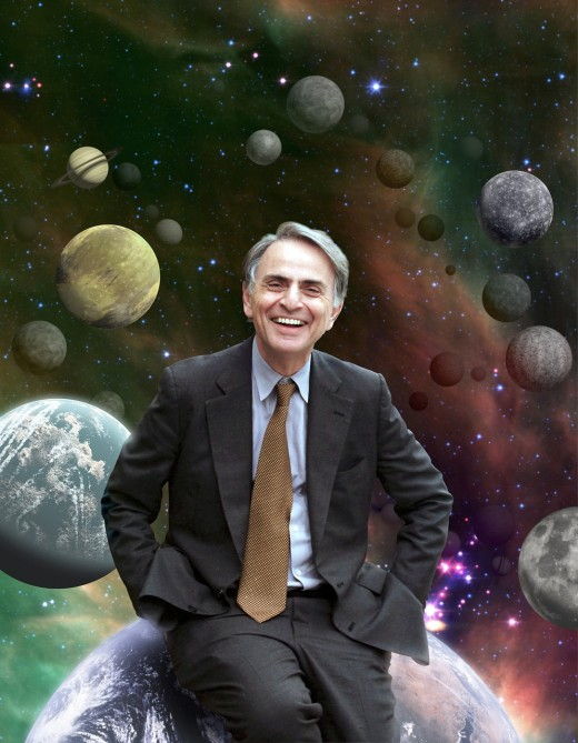 """The first indication of intelligent life on Earth lies in the geometric regularity of its constructions."" - Carl Sagan"
