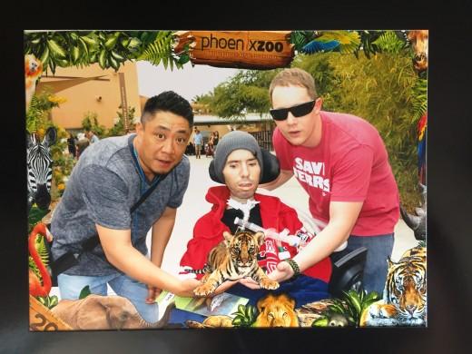 Phoenix Zoo with my friends