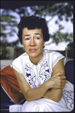 Anne Morrow Lindbergh in later life (she died in 2001)