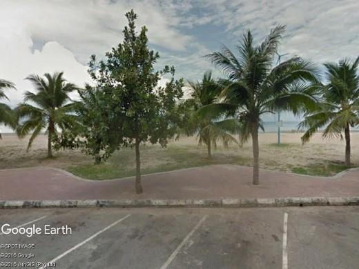 Port Dickson beach upfront