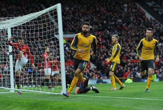 Arsenal Striker Giroud may be headed for the door