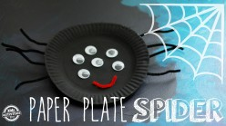 How to Make a Paper Plate Spider