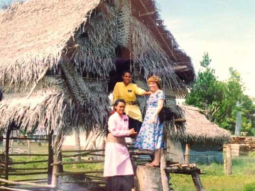 Sister missionaries in Niuatoputapu  Personal photo REK