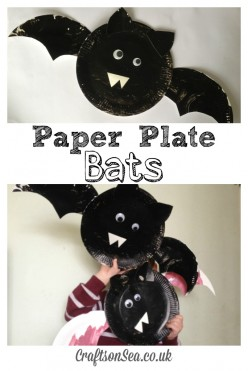 How to Make Paper Plate Bats