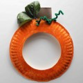 How To Make Pumpkin Paper Plate Crafts