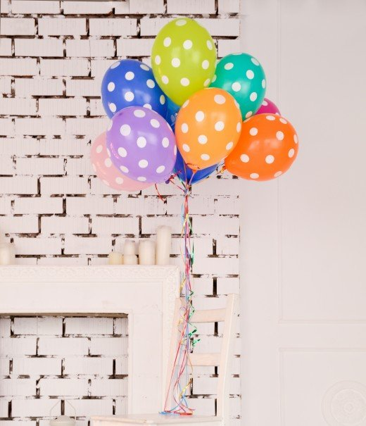Party Balloons Photo via Unsplash