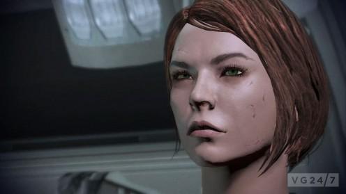 Default female Shepard.
