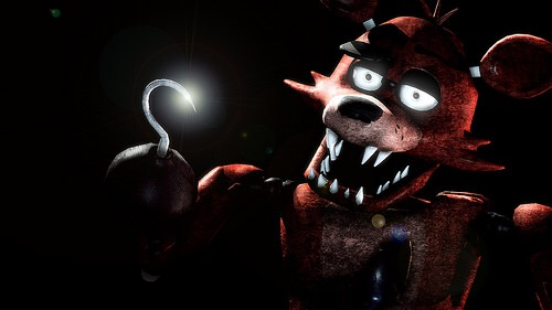 Ya gotta look cool, Foxy. This is his normal version.