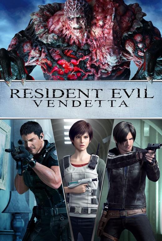 Resident Evil: Vendetta theatrical poster