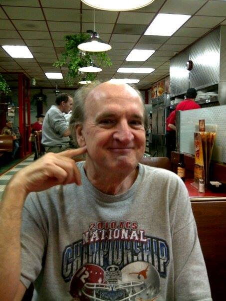 Me in 2006 at Huddle House, Hamilton, AL. You might be tempted to think that I am some type of narcissist, but I am not.