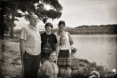 Me and the entire gang some time at Tennessee River, Florence, Al.
