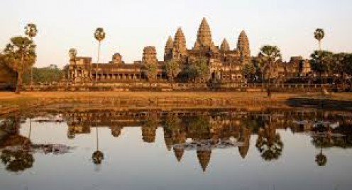 Cambodia is a poor country but the views can be breathtaking.