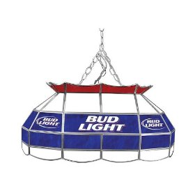 Budweiser pool table light.