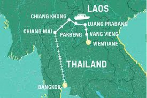 Laos is the only landlocked country in Southeast Asia.