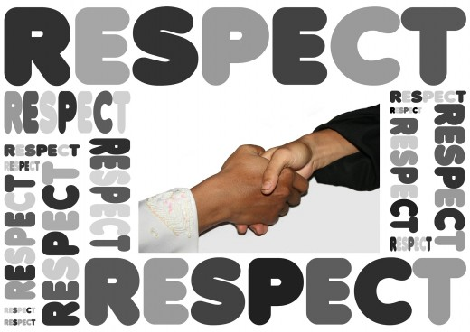 We Work to Gain Respect From Others