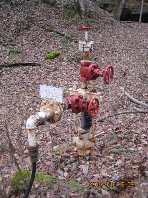 Non Producing Gas Well