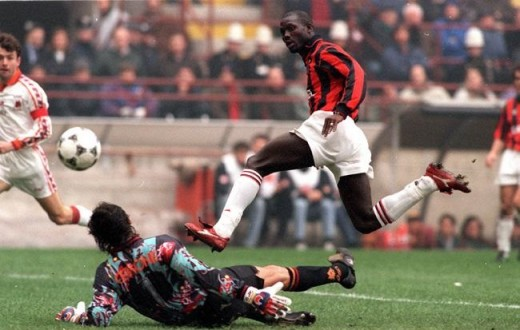 Weah Playing for Milan