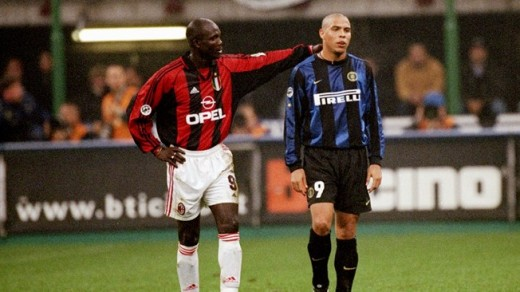 George Weah vs. Ronaldo in Serie A
