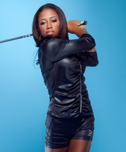 "Golf Phenom Zakiya ""Z"" Randall Talks Stephen Curry With ESPN"