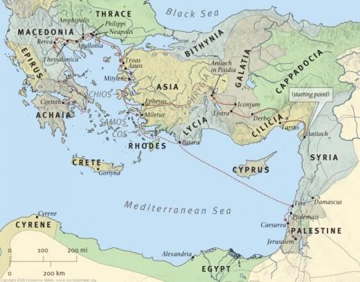 In the Heartland of Modern Day Turkey