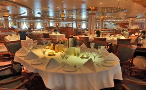 A Dining Room fit for a princess ... A Coral Princess!