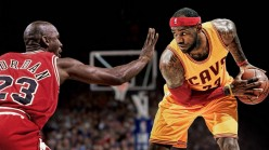Michael Jordan Versus LeBron James