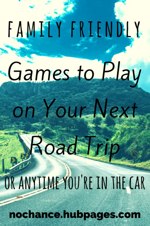 Time spent in the car is perfect for family bonding, try these games to pass the time.