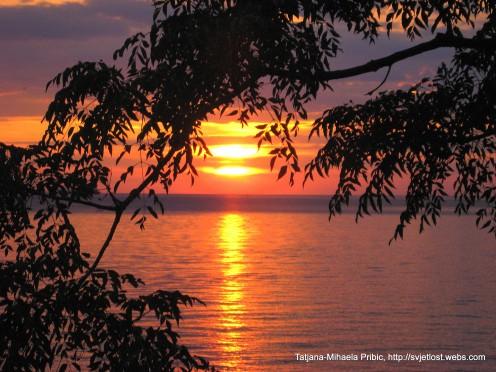 Sunset in Zadar, Karma, Arbanasi, photo by Tatjana-Mihaela