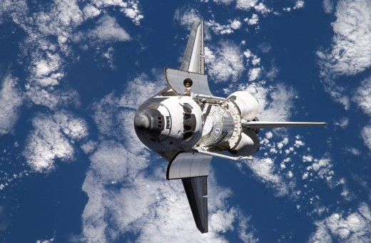 Space Shuttle Reaching Escape Velocity