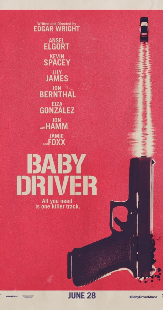 Baby Driver theatrical poster
