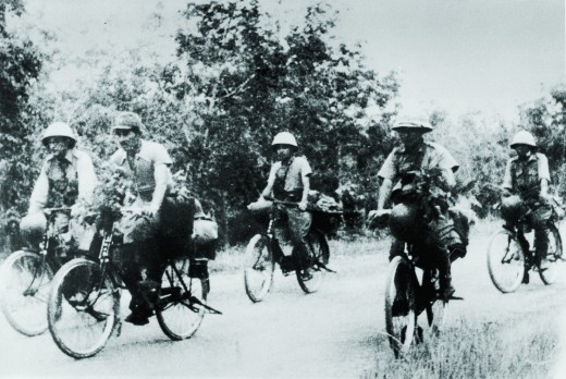 Japanese soldiers in Malaya