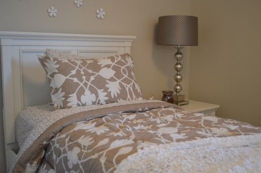 Create a quiet atmosphere to sleep soundly throughout your sleeping cycle.
